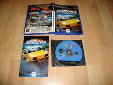 NEED FOR SPEED HOT PURSUIT 2 DE BLACK BOX GAMES PARA LA SONY PS2 USADO COMPLETO