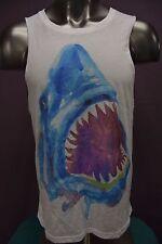Mens Mustache Brigade Shark Shirt New L