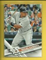 Miguel Cabrera 2017 Topps Series 1 Card # 150 Detroit Tigers Baseball MLB 1B