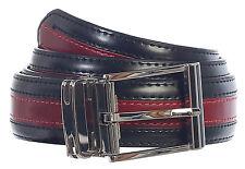 Gift_Men's Premium Handmade Genuine Leather Two Toned Belt_MULTI COLORS