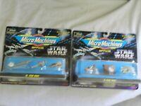 Lot of 2 Star Wars Micro Machines Space IX & II - Sealed