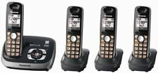 Panasonic Kx-Tg6534B Expandable Digital Cordless Phone and Answering System with