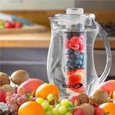 2.7 L chiaro FRUTTA Infusione Brocca Caraffa partito Core sapore infus. ICED tè acqua
