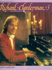 Taiyo Music RICHARD CLAYDERMAN 5 songbook piano JAPANESE IMPORT