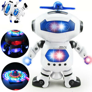 Toys For Boys Girls Robot Kids Toddler Robot Dancing Musical Toy Christmas Gift