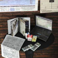 """1:6 Escala Portátil Cigarrillo Caja Periódico para 12"""" Figura de Acción Escena"""