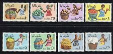 Somalia 1968 Women Costumes/Fruits/Plants/Cotton/Oranges/papayas/agriculture