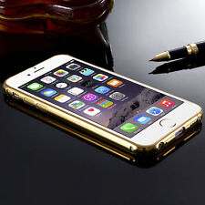 Luxury Aluminum Ultra-thin Mirror Metal Case Cover for iPhone & Samsung Galaxy