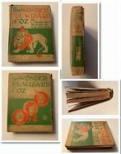 THE WONDERFUL WIZARD OF OZ Book,First Edition,Baum,Denslow,Good Condition 1900!