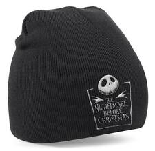UFFICIALE Nightmare Before Christmas-LOGO-Cappello Beanie