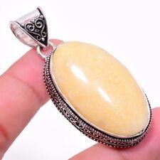 Aventurine Gemstone Ethnic Jewelry Antique Design Handmade Pendant RP-21618