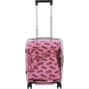 Samsonite Cabin Case Transparent Pink Barbie 60th Birthday Edition New