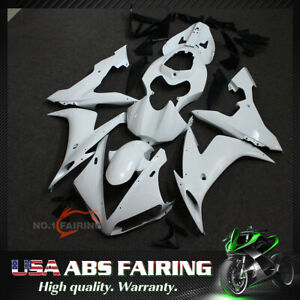 Unpainted ABS Injection Fairing Kit BodyWork for YAMAHA YZF R1 2004 2005 2006