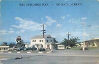 Middletown Virginia 1950s Postcard Nixon's Motel & Restaurant