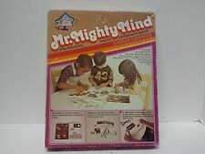 Vintage MR MIGHTY MIND -play alone Activity Set-Leisure learning 1981- education