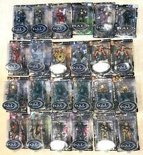 Halo Action Figures - Joyride Studios - Halo 1 & Halo 2 - Spartans, Elites,Chief