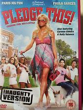 Paris Hilton Carmen Electra Holly Vallane cNATIONAL LAMPOON'S PLEDGE THIS UK DVD