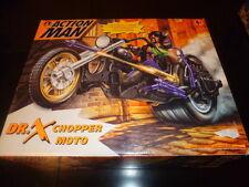 ACTION MAN CHOPPER MOTO DR X & MISSILE LAUNCHER HASBRO 1997 NEW MIB