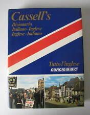 DIZIONARIO IT-ING/ING-IT   CASSELL'S    -     TUTTO L'INGLESE CURCIO BBC  1979
