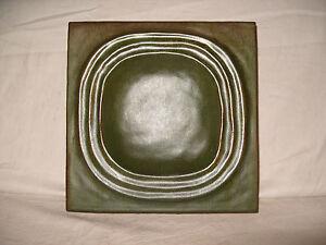 Kachelofenkacheln grün, neu, 22X22 cm