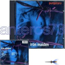 "IRON MAIDEN ""PURGATORY"" RARE CD LIVE 1990 - MADE IN ITALY"