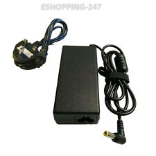 F. LOGIQ M760T HIPRO hp-ok065b13 LAPTOP CHARGER ADAPTER + POWER CORD G163