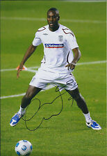 Carlton COLE Signed Autograph 12x8 Photo AFTAL COA England West Ham Rare