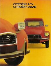 Citroen 2CV & Dyane 1974-75 Dutch Market Sales Brochure