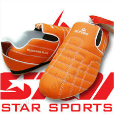 Star Kumkang+ Taekwondo Martial Arts Shoes Loop Jump Orange Free Track