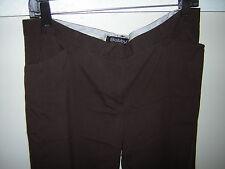 Junior Size 11 Brown Dress Pants Slacks by Bobby J - EUC