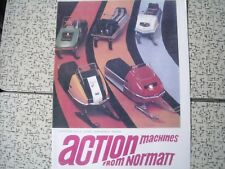 1972 Vintage NORMATT Snowmobile Toy Brochure SKI DOO Cat Polaris Rupp
