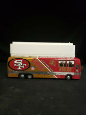 Danbury Mint Motor Coach Die Cast Team Bus San Fransisco 49er 1:47 Scale