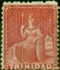 Trinidad 1905 3d Slate-Black SGD12 Fine Mtd Mint