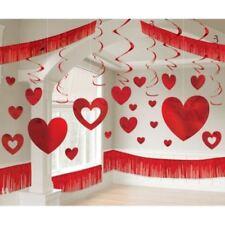 Décorations de fête guirlandes rouges pour la maison Saint Valentin