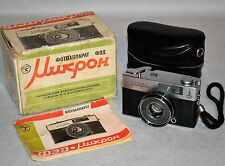 "COLLECTIBLE! SUPER RARE! USSR ""FED MICRON MOSCOW 80' OLYMPICS"" camera, FULL SET"