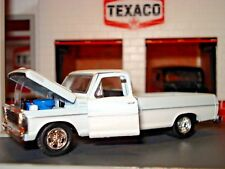 1969 FORD F-100 LONG BOX PICKUP LIMITED EDITION 1/64 M2 COOL TRUCK COWBOY CADDY