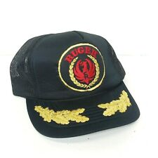 Vintage Ruger Firearms Trucker Snapback Hat w/ Embroidered Bill Young An Hat Co