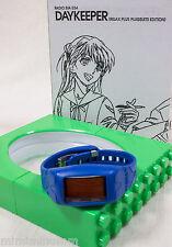 Evangelion Daykeeper Wrist watch RADIO EVA 034 RELAX PLUS SHINJI Model  JAPAN