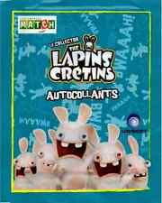 50 stickers (Album The Lapins Crétins - Match - Album Français)