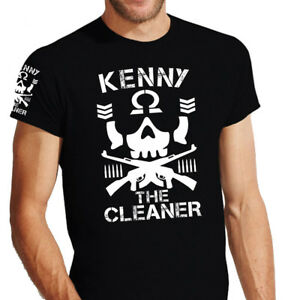KENNY THE CLEANER BULLET CLUB Japan Wrestling T Shirt / Größe S - 5XL