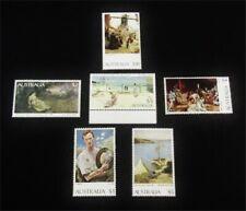 nystamps British Australia Stamp # 573/579 Mint Og Nh $47 J15y1964