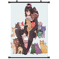 Anime My Boku no Hero Academia wall Poster Scroll Cosplay 3182