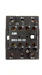 ABB B63-30-22 230V Leistungsschütz Schütz FPL3721001R8220 NEU (#235)