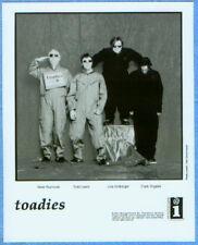 2001 Interscope Records Toadies 8 X 10 Industry Photo