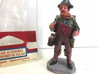 Lemax MUSIC MAN Figure 2001 Holiday Village Collection #12479