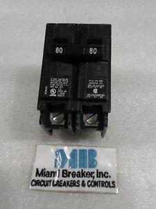 B280 SIEMENS CIRCUIT BREAKER 2 POLE 80 AMP 240 VAC NEW!!!