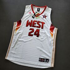 100% Authentic Kobe Bryant Adidas 2009 NBA All Star Game Jersey Size 52 Mens