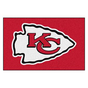"""Fanmats NFL Kansas City Chiefs Rookie Mat Area Rug Bath Mat 20""""x 30"""""""