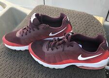 Nike Air Men's Shoes Sneakers Red & White Size 11