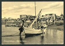 Cesenatico ( Forlì ) -  cartolina viaggiata nel 1954
